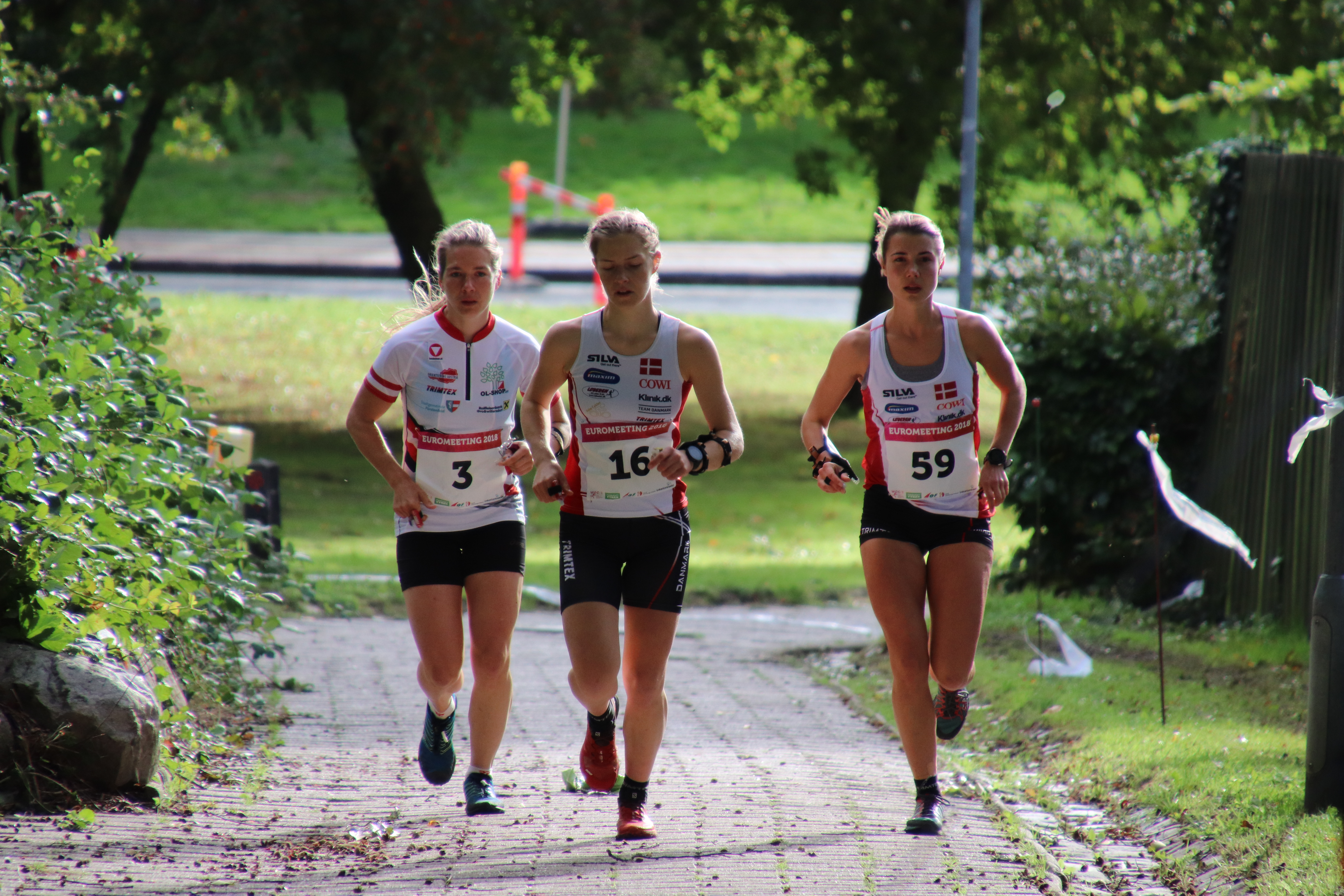 Flot Knock Out sprint ved Euromeeting